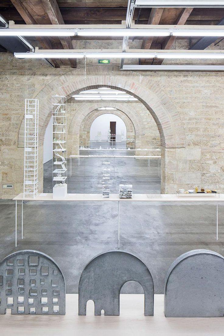 Arc-en-Rêve Centre d'Architecture , Galerie d'Exposition, Bordeaux, Exposition « Petit? Grand? L'Espace Infini de l'Architecture - Junya Ishigami » © Rodolphe Escher