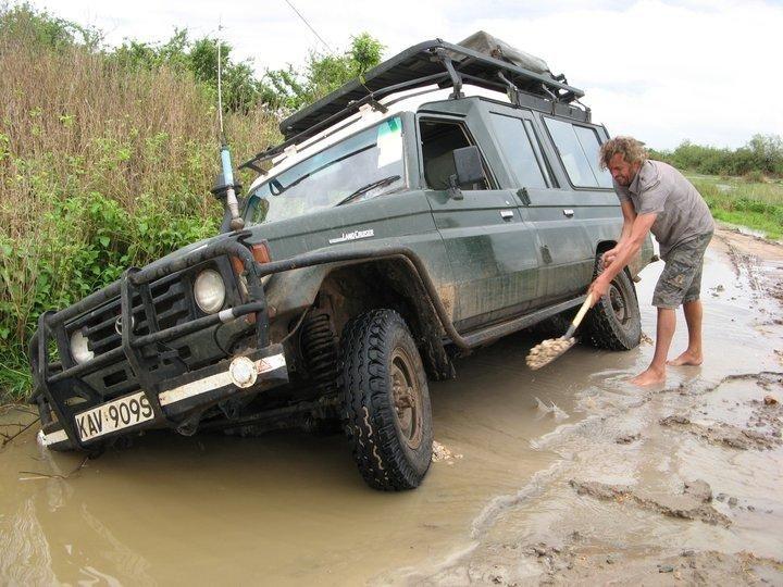 Das Offroad Forum: Auto ausgraben ?