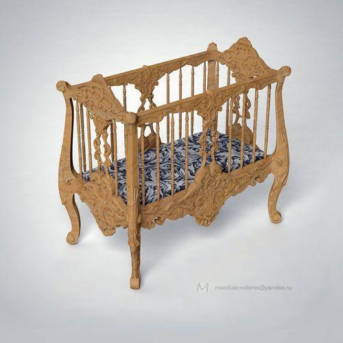cradle | 3D Model