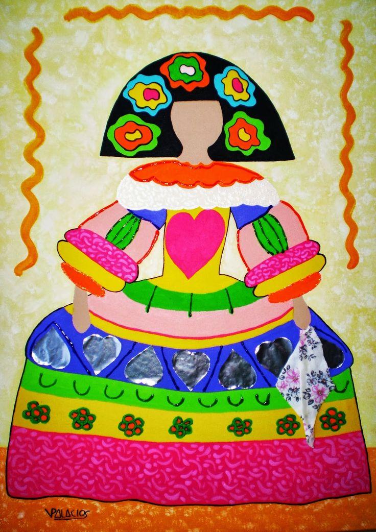 vestida por Agata Ruiz de la Prada