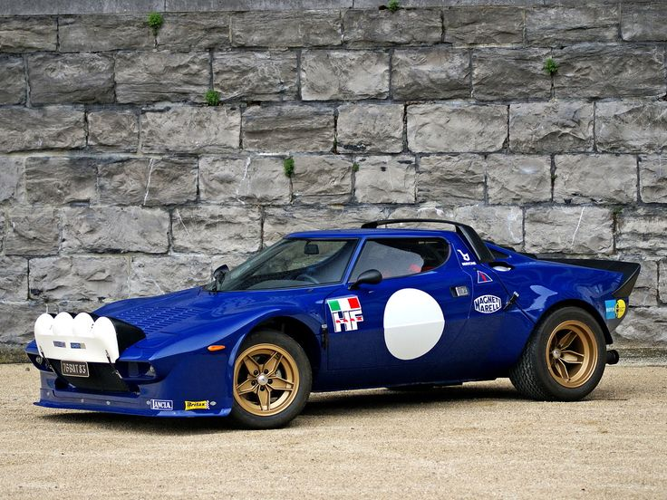 I Love this pic./ Lancia Stratos
