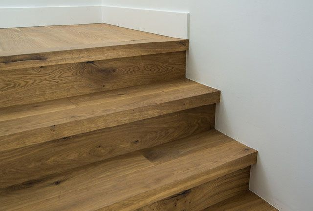 Custom Square Nose Stair Treads Cooper Floors Wood Stair Treads Hardwood Stairs Stair Nosing