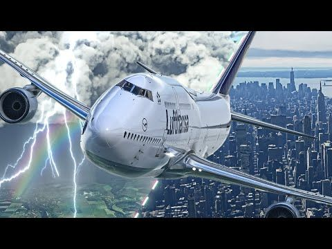 Best Game of 2020?? Flying Giant Plane to New York ...