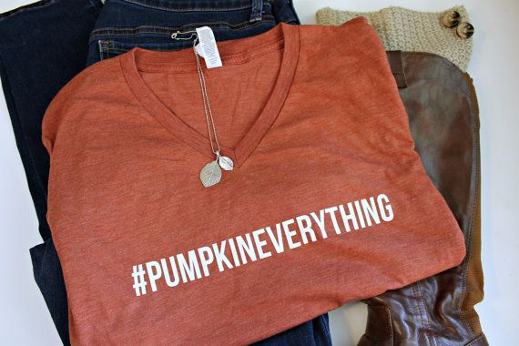 Pumpkin Spice - Women's Fall Shirt - Fall T-Shirt for Women - Mom Shirt…