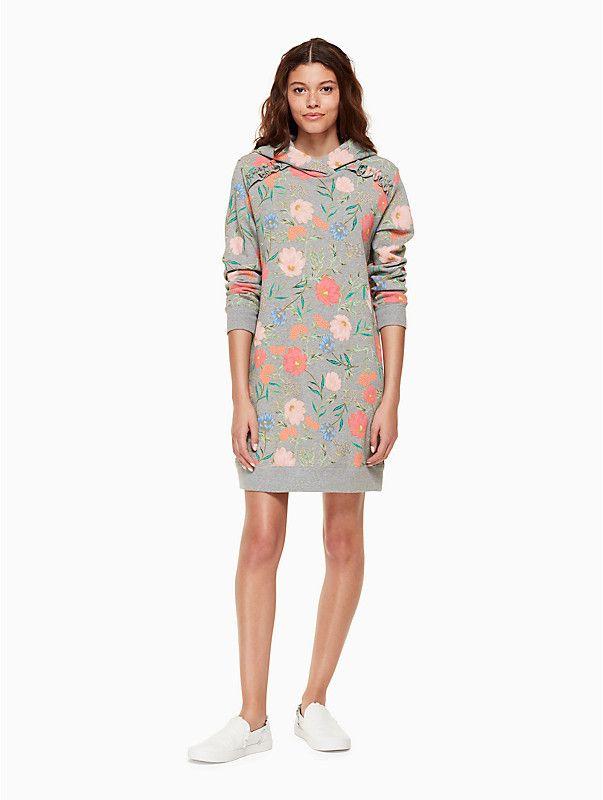 60ae4a68be Kate Spade Blossom sweatshirt dress