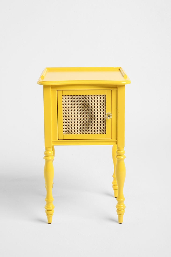 Yellow Nightstand. I Love A Pop Of Color!