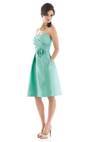 Robe Demoiselle d'honneur/ Robe de Cocktail Naturel Avec Sans Manches Textile Taffetas