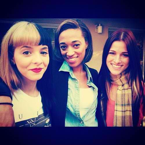 Melanie Martinez with Amanda Brown and Cassadee Pope <3<3<3