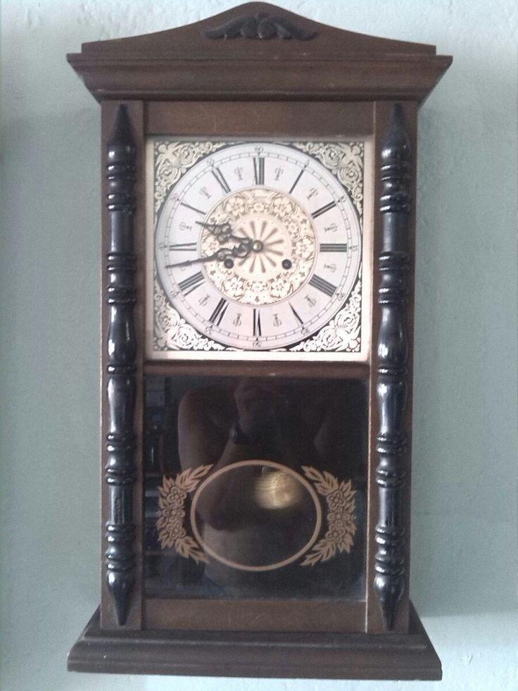 Reloj de pared antiguo jawaco en mercadolibre - Relojes antiguos de mesa ...