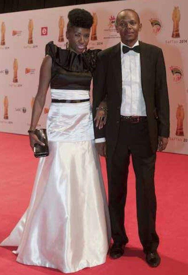 Bhoza Mphela at the #SAFTA 2014 South African Film and TV Awards 2014