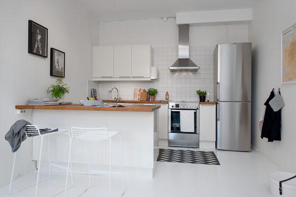 작은 원룸 화이트 인테리어 디자인_Small One-Room Apartment Showcasing An Ingenious Layout : 네이버 블로그