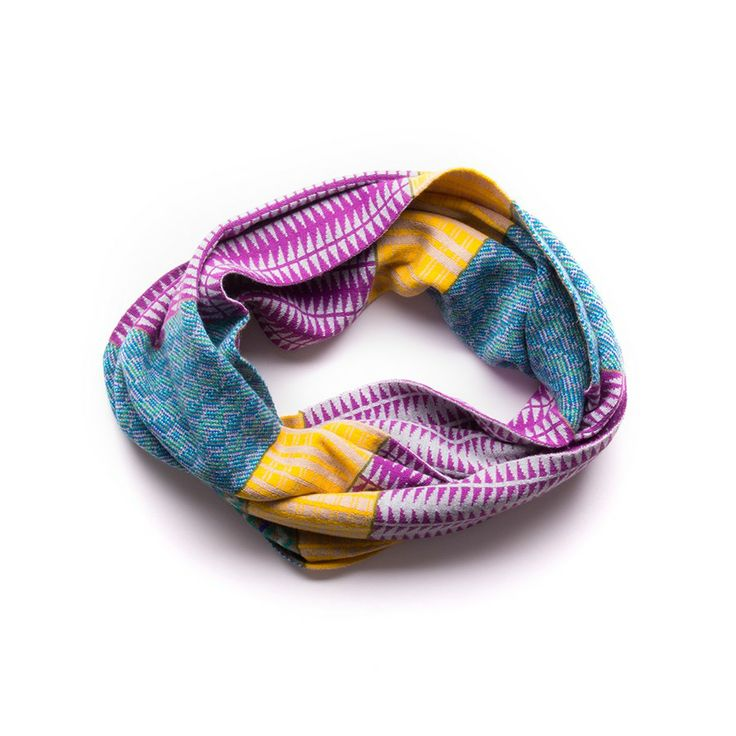 Echo Design Pattern Blocking Infinity Ring Scarf, $48.00 #birchbox