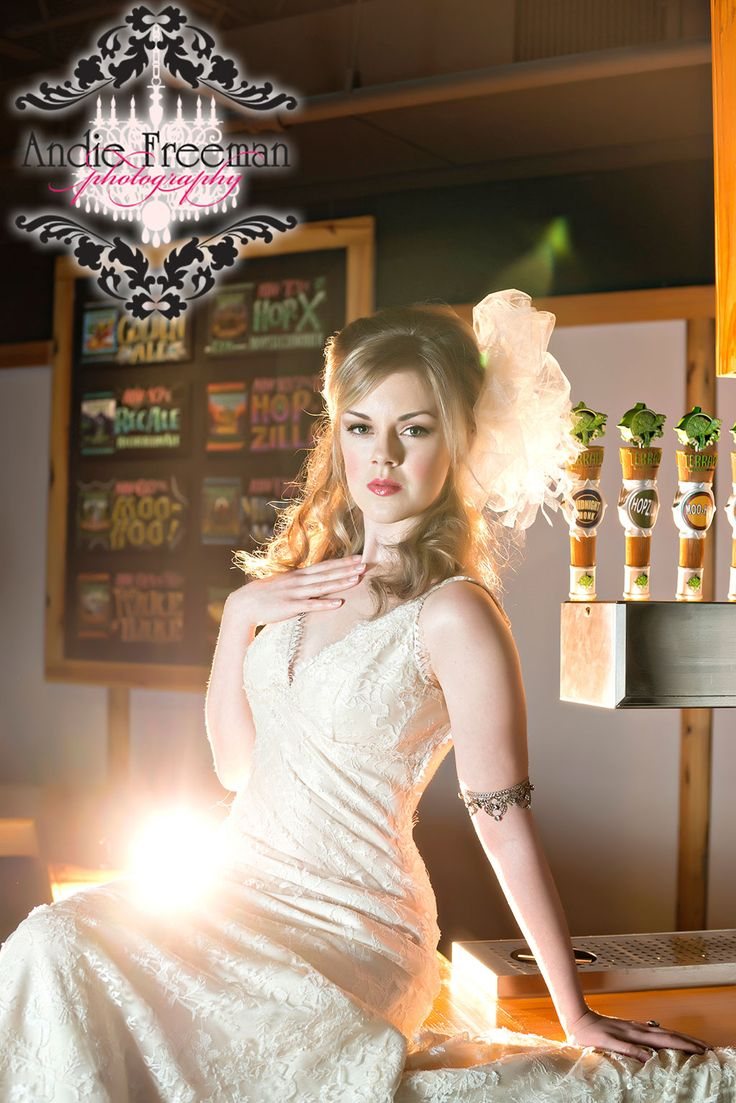 dress | chris hudson couture, madison, ga - venue | terrapin beer co