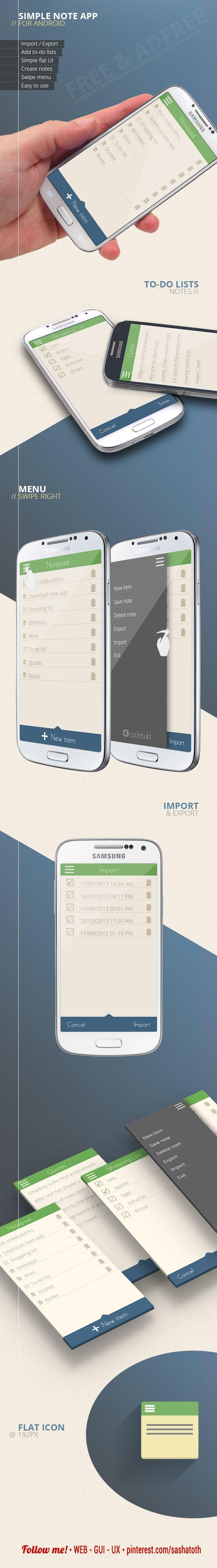 Categoria: 1 / Tags: ui, app, android, gui / Descrição: Referência de interface.