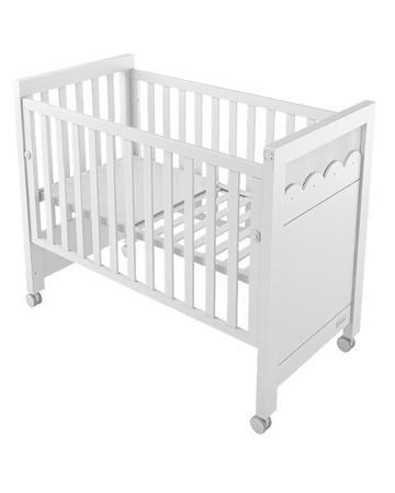 Micuna 60х120 с подсветкой белая Amelia Aran  — 31350р. -------- Кровать 60х120 с подсветкой белая Amelia Aran Micuna - практичная и красивая мебель для малышей. Бортик снимается, а дно регулируется по высоте.
