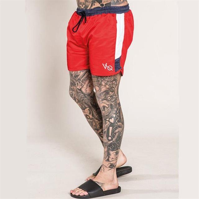 2019 Men Gyms Shorts Fitness Summer Bodybuilding Short Pants Kneel Length Beach …