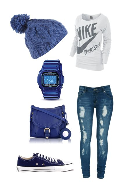 Outfit- the tomboy in me loves this! lol I'd probably go for a different shirt though
