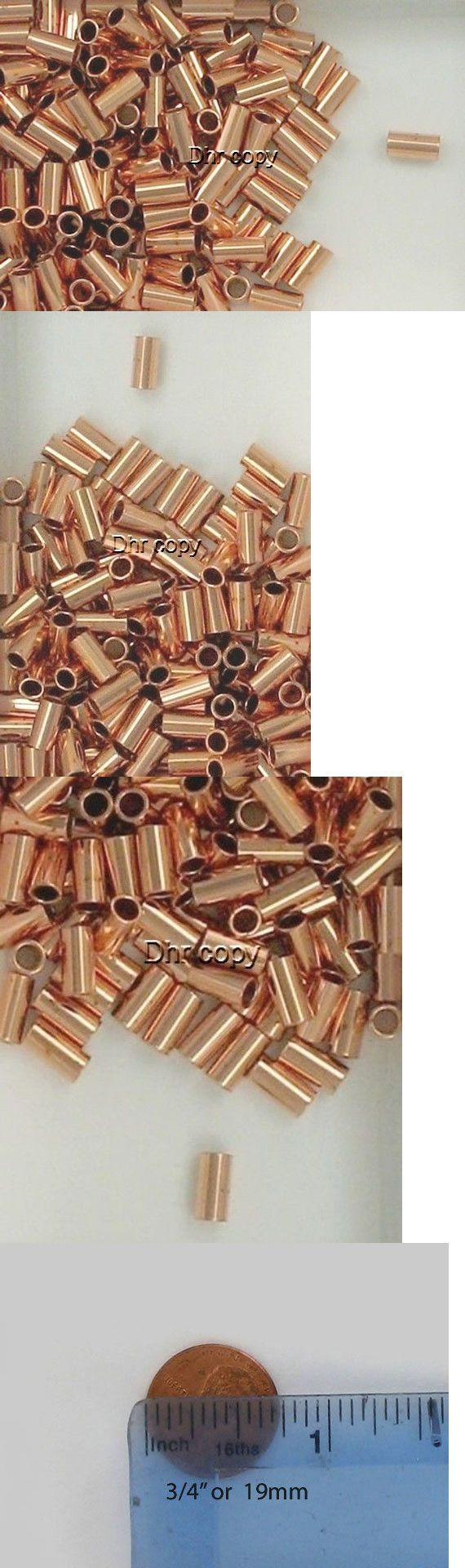 Other Loose Beads 179275: Solid Copper 3X6mm Round Tube Spacer Beads, Choice Of Lot Size And Price -> BUY IT NOW ONLY: $39.95 on eBay!