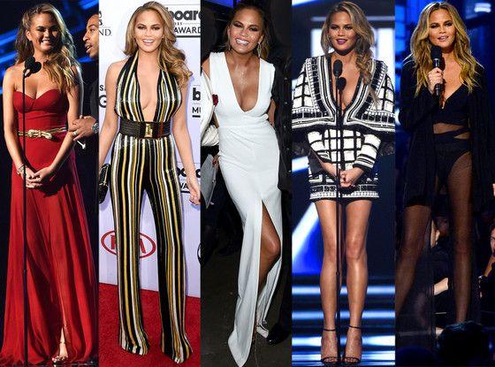 All of Chrissy Teigen's 2015 Billboard Music Awards Looks—Vote for Your Favorite!  Chrissy Teigen, Billboard Music Awards 2015