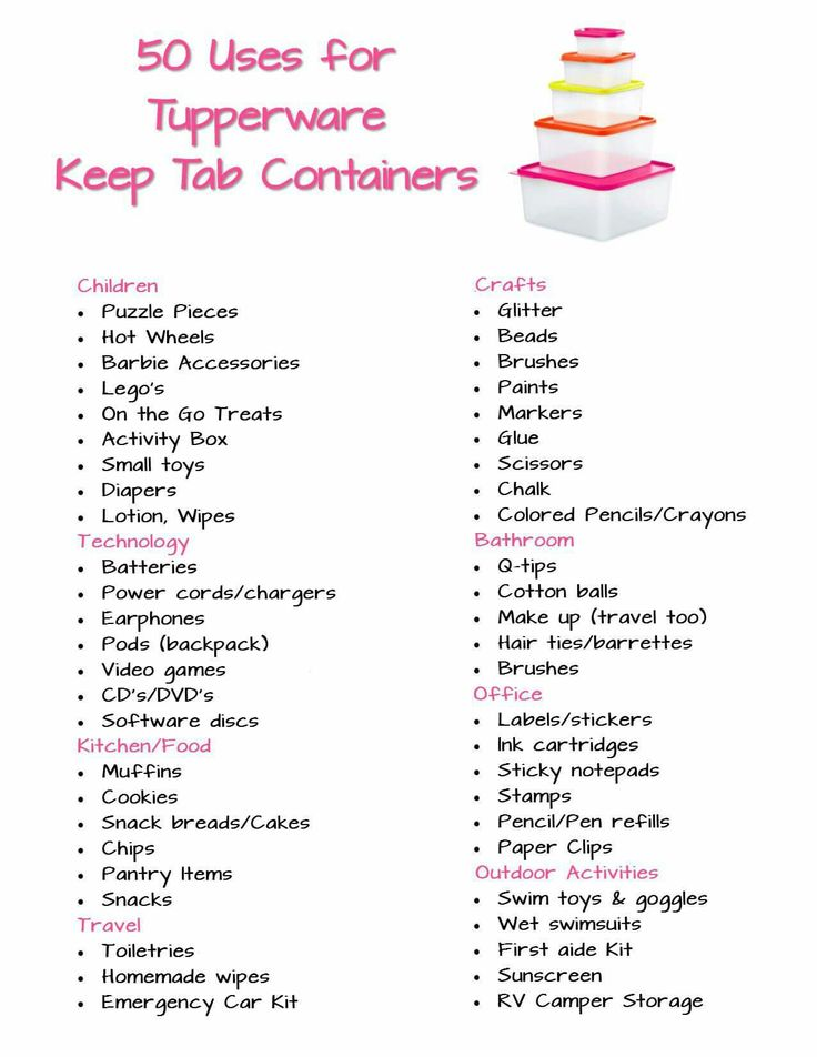 Look at all the uses for storage with Tupperware  catalog Kiminness.my.tupperware.com