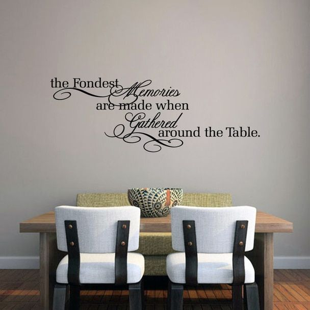 84 Dining Room Kitchen Decals Ideas, Wall Decor Stickers For Dining Room