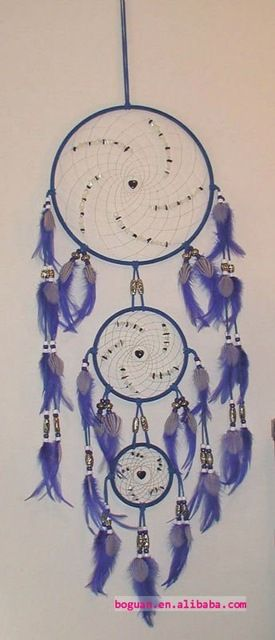 Source wholesale feather decoration dream catchers craft on m.alibaba.com