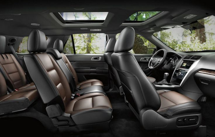ford explorer 2016 interior
