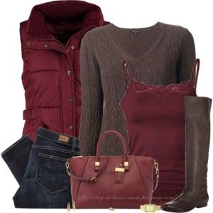 Really like this color combo. Different boots and bag