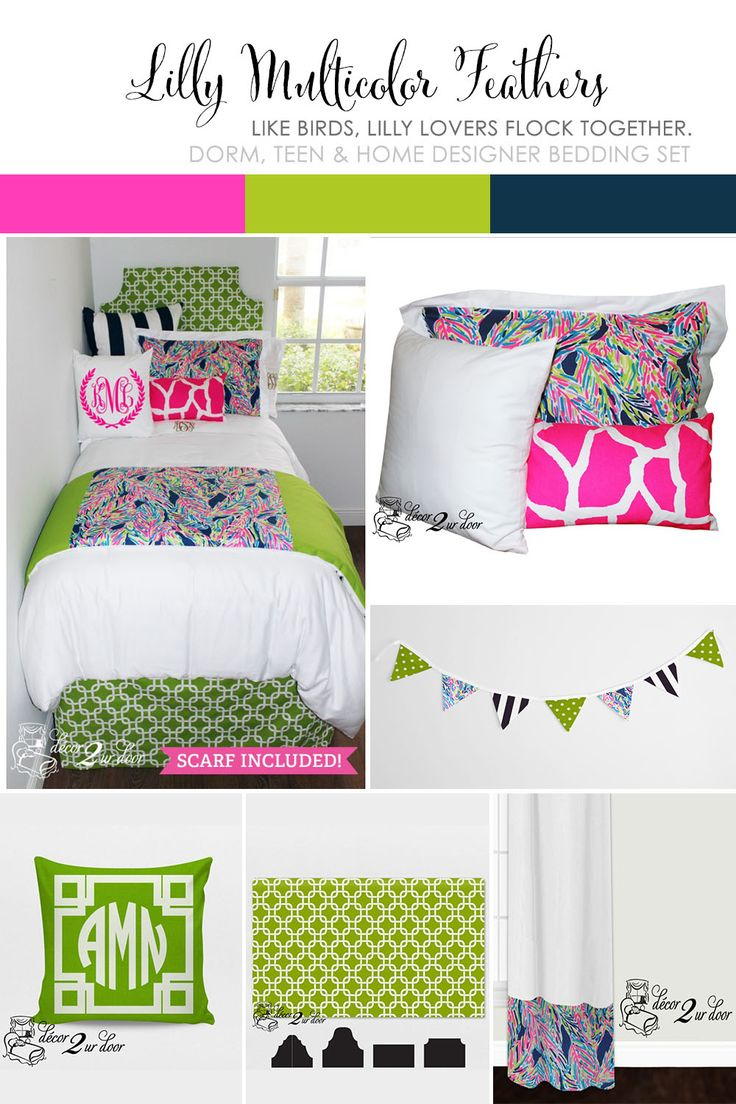 17 Best Images About Lilly Pulitzer Bedding And Lilly Dorm