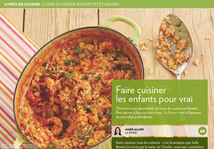 Faire cuisiner lesenfants pourvrai - La Presse+