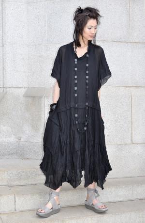Modena Dress in Black Delphi