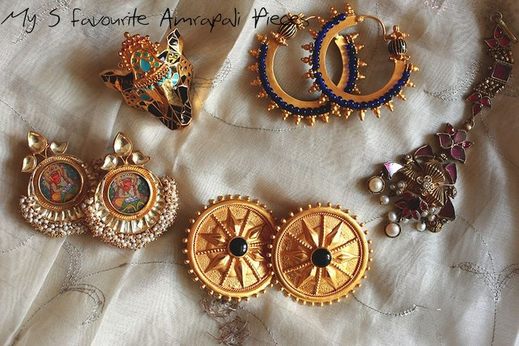 My 5 Favourite Amrapali Jewellery Pieces