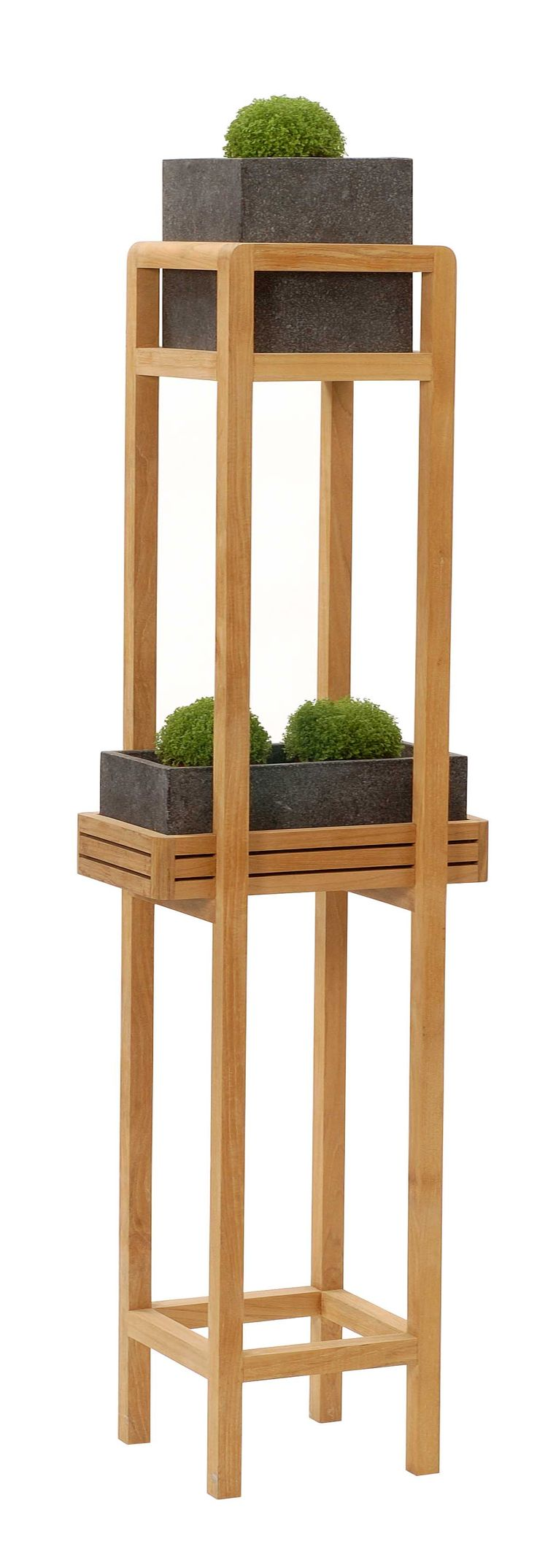 Serre Tall Plant Stand - Without Shelf