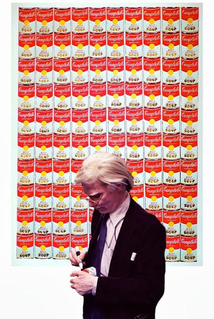 "Andy Warhol.  ""art is what you can get away with"""
