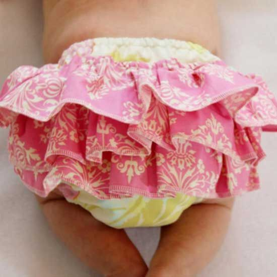 Ruffled Diaper Cover Pattern - MammaCanDoIt - Sewing Pattern - 1