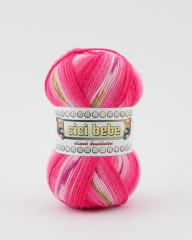 Cicibebe 595-10 - Raspberry Sprinkles