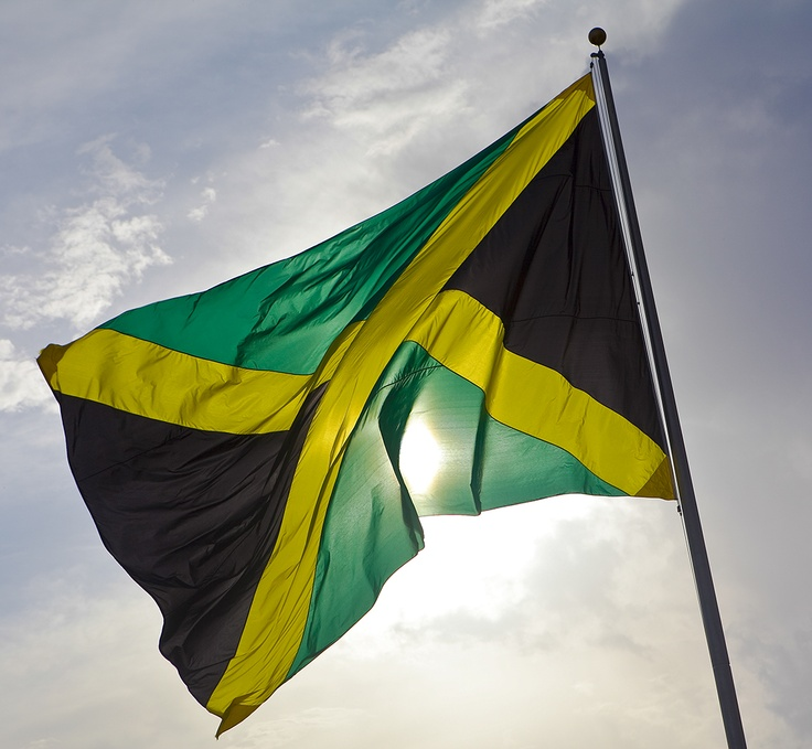 Jamaican Flag in Rick's Cafe