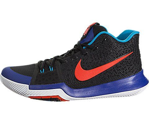 promo code ba07d 5e635 NIKE Kyrie 3 Men's Basketball Sneaker (10, Black/Team Orange ...