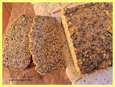 Excelente para sándwiches, este pan de chia sin harina ni lácteos es apto para diabéticos, celíacos, para los que preferimos evitar los carbohidratos y para