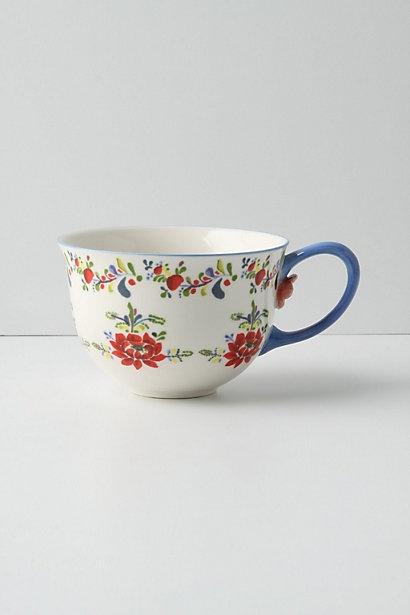 Cadiz Mug - Anthropologie.com blue