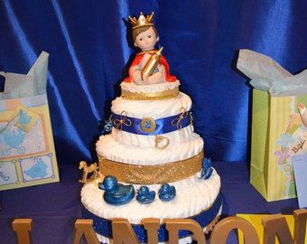 Royal Prince Display by YourCreativeCelebrat on Etsy