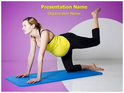 best yoga powerpoint presentation template images on, Presentation