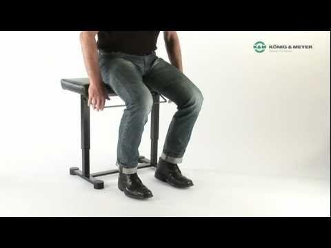 Gasdruckfeder die Zweite - Unsere Klavierbank »Uplift« im Video