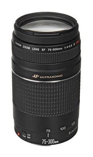 Lente Canon EF 75-300 mm f/4-5.6 III USM   Best Buy México