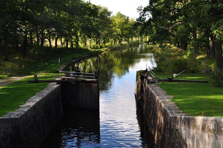 #Canal #Hjälmare #Arboga #sweden #Beatiful