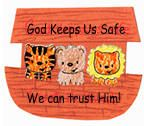 LESSONS: For toddlers, in general Sunday School - this one is for Noah's ark crafts for children. This Noah's ark has three animals and is great for toddlers too.