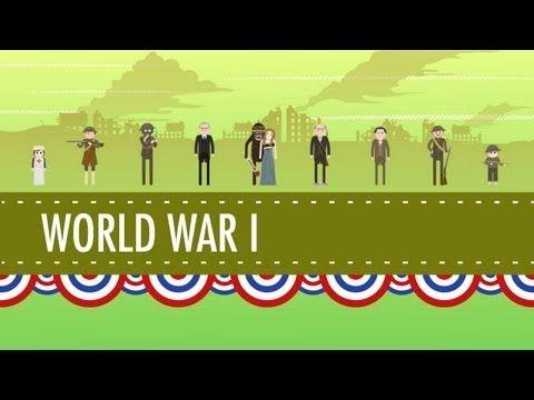 ▶ America in World War I: Crash Course US History #30 - YouTube
