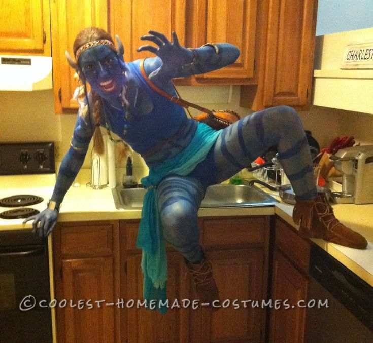 Coolest DIY Avatar Costume... Coolest Halloween Costume Contest