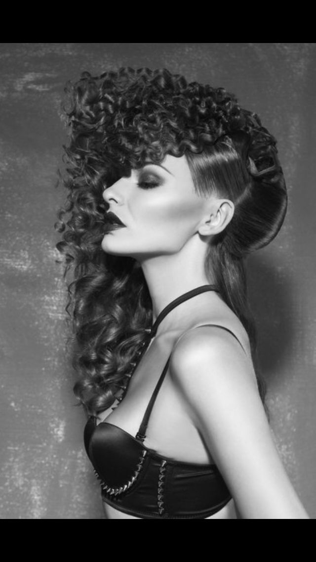Hairdresser Karimova Anastasiya. StyleMasters 2015