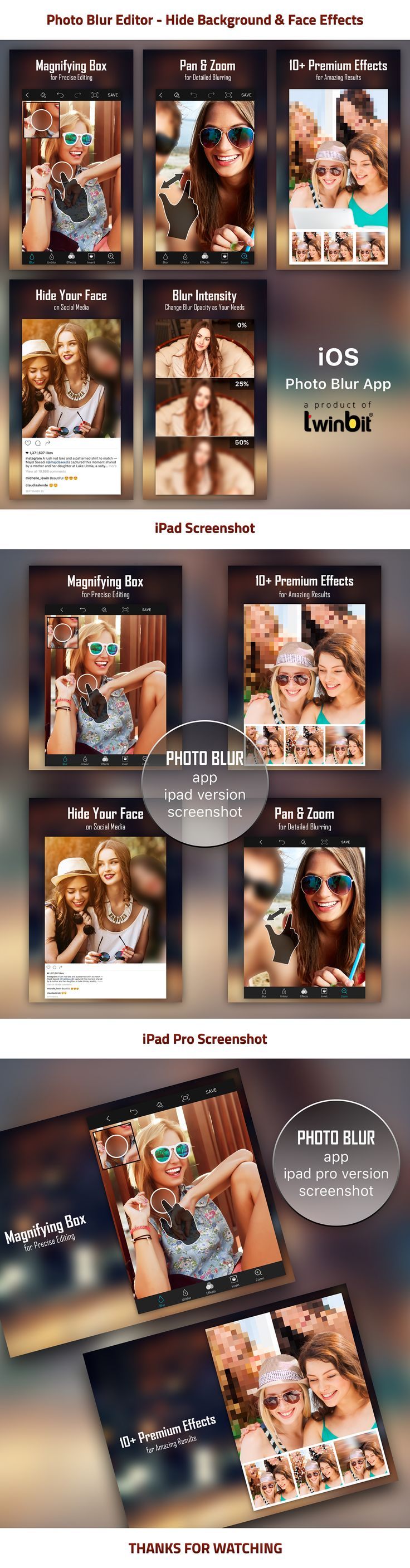 "Check out my @Behance project: ""Photo Blur Editor App"" https://www.behance.net/gallery/45340375/Photo-Blur-Editor-App"